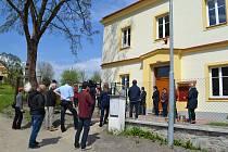 Spolkový dům v Radouňce  v budově bývalé školy.