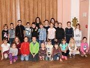 Recitační soutěž pro děti uspořádala bystřická knihovna.