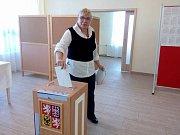 Ve Strmilově volila i Irena Steinhauserová, která k volbám chodí pravidelně.