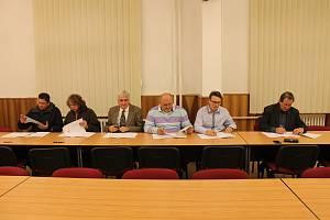 Dohodu o koaliční spolupráci podepsali po volbách zástupci Patriotů, Pirátů, SNK-ED a STAN, ODS, ANO a ČSSD.