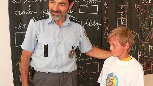 Jaroslav Beran, okresní policejní mluvčí.