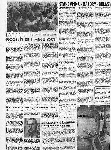 Štít 15.prosince 1989 - strana 2.