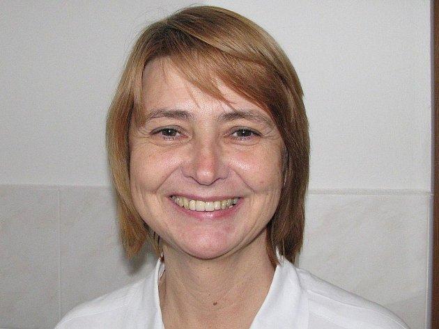 Primářka Lázní Aurora Olga Vačkářová raději jedná s lázeňskými klienty o problémech osobně.