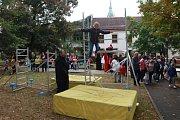 Jindřichův Hradec se loučil s prázdninami. park byl plný pohádkových a filmových bytostí, soutěží a hudby.