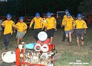 SDH Mosty pořádalo noční soutěž, na které domácí skončili mimo stupně vítězů.