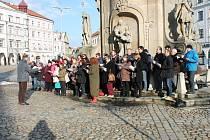 Obyvatelé Jindřichova Hradce si připomenou památku obětí holokaustu z roku 1944.