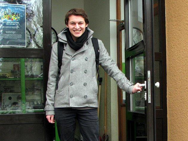 BRAZILEC Gabriel Thomas Dotta studuje na jindřichohradecké střední odborné škole.