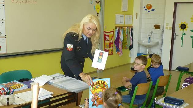 Děti ze 6. ZŠ se učily o bezpečnosti.