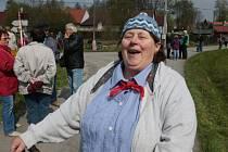Prvomájový průvod v Sedle na Jindřichohradecku bavil stovky diváků.
