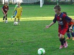 Suchdol nad Lužnicí - V Suchdole trénují i budoucí fotbalové naděje.