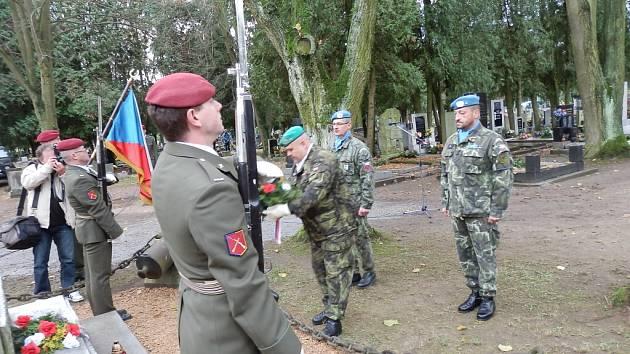 Den veteránů v Jindřichově Hradci.