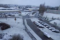 První sníh se v Jindřichově Hradci udržel až v neděli 19. listopadu.