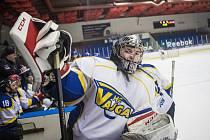 Hokejisté Vajgaru zdolali Vimperk 2:1 po samostatných nájezdech.