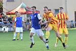 Třeboňští fotbalisté prohráli v 6. kole krajského přeboru ve Strakonicích 1:2.