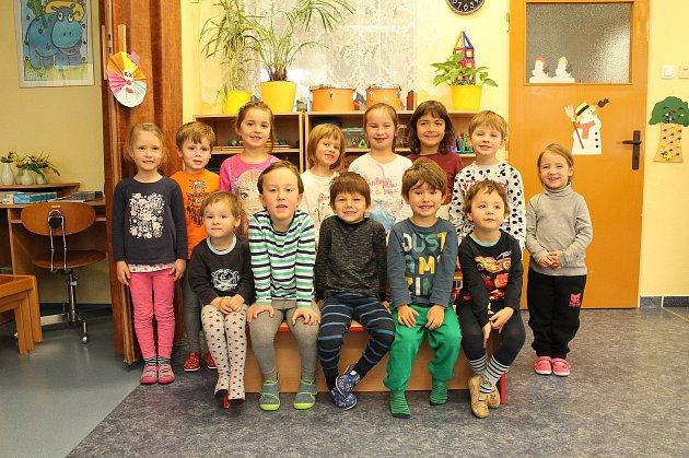 Na odloučeném pracovišti 1.mateřské školy vJindřichově Hradci Pod Kasárny mají itřídu Kočička.