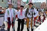 12. folklorní festival v Jindřichově Hradci.