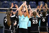 Jindřichohradecké prvoligové házenkářky si připsaly první výhru v nové sezoně.