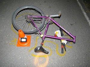 Tragická nehoda cyklisty u Dunajovic