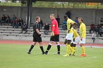 Jindřichohradeckým fotbalistům se v divizi nedaří.