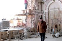 Rekonstrukce kulturního domu Koruna v Nové Bystřici.