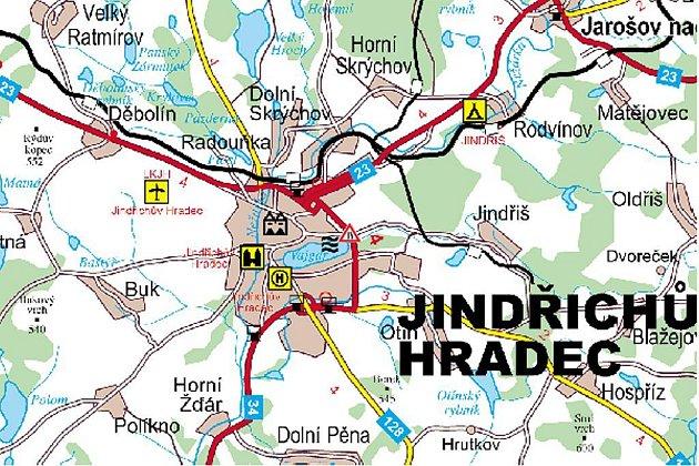 Částečná uzavírka mostu přes Hamerský potok vJ. Hradci potrvá do 30.června.