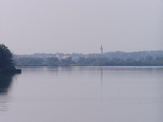 Král rybníků Rožmberk.