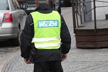 Městská policie v Jindřichově Hradci. Ilustrační foto.
