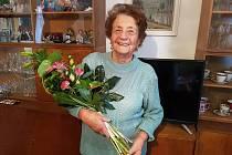 Paní Marie Kašková v neděli 25. listopadu 2018 oslaví 101. narozeniny.