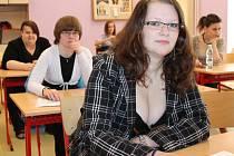 Maturitní zkoušky skládaly i studentky Střední zdravotnické školy v Jindřichově Hradci.