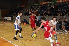 Hradecká hala hostila republikové finále basketbalu 3x3.