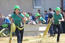 ŠEST Z OSMI závodů Jindřichohradecké hasičské ligy vyhrály ženy z Dolního Žďáru.