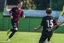 Fotbalisté Dačic figurují po pěti kolech na druhém místě I. A třídy.