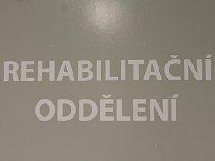 Rehabilitační oddělení nemocnice v Jindřichově Hradci.