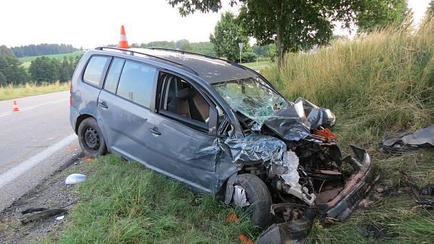 Tragická nehoda na Jindřichohradecku. Ilustrační foto.