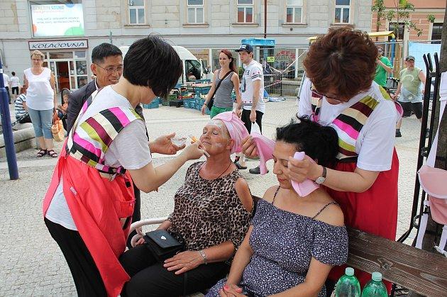 V Jindřichově Hradci se konaly Korejské dny se spoustou ukázek z korejské kultury.