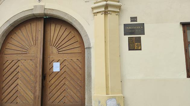 Okresní soud v Jindřichově Hradci. Ilustrační foto.