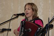 Hudba harmonik se v sobotu rozléhala sálem lodhéřovského kulturního domu.