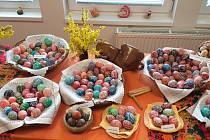 Jarošovští v sobotu 13. dubna zahájili velikonoční výstavu v Pravdově knihovně.