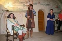 Ochotníci loni zajistili také kostýmované prohlídky na zámku.