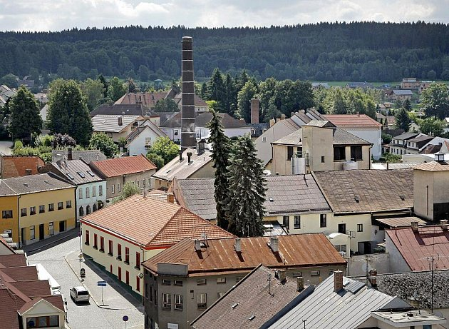 Výhled z věže kostela svatého Mikuláše v Humpolci nyní bude možný pouze o víkendech