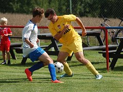 Fotbalisté Nového Rychnova zahájili tažení Poutník ligou výhrou nad Božejovem.