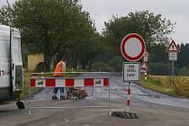 U Polesí opravili nejvíce poškozený úsek silnice.