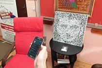 Z fotografie vytvořil Petr Diblík mozaiku s QR kódem, který lze načíst mobilním telefonem.