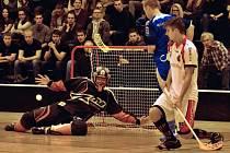 Pelhřimovu se v zápase s Ústím nedařilo. Od favorita inkasovali deset branek.