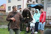 Sobotní odpoledne v Bořeticích patřilo Mysliveckému dětskému dni.