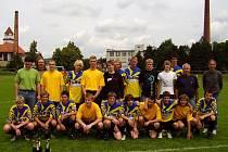 V postupovém roce pelhřimovského fotbalu se o patro výše posunul i starší dorost.