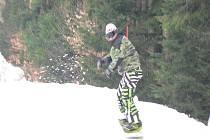 Snowboard a ski cross na Křemešníku