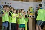 Sazka olympijský víceboj v ZŠ Na Pražské v Pelhřimově.