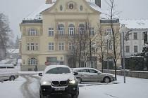 Zvládnout zimu v ulicích Humpolce pomůže nový sypač