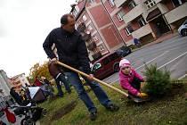 Sázení Stromků pro potomky v Pelhřimově